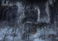 Forsaken Cainhurst Castle concept art 1
