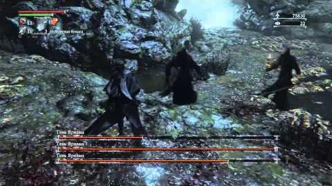 Bloodborne Shadow of Yarnam BossFight