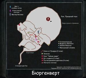Карта Бюргенверта