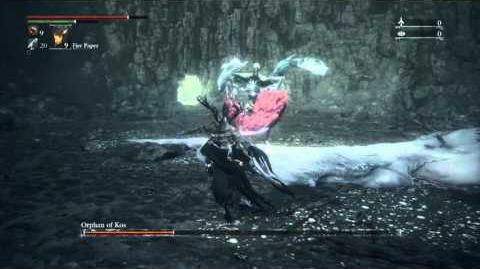 Bloodborne™ church dick vs Kos - NG 0+