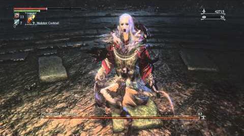 Bloodborne Pthumerian Descendant Optional Boss Fight 7
