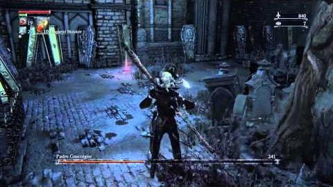 Bloodborne Father Gascoigne Boss