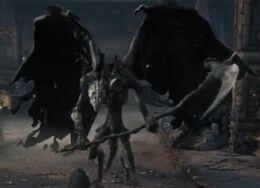 Full in game view of Lesser demon V, 2