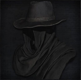 Black Church Hat (male)