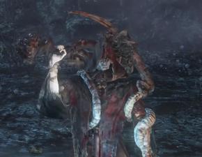 Madman Wallar Bloodborne NPC