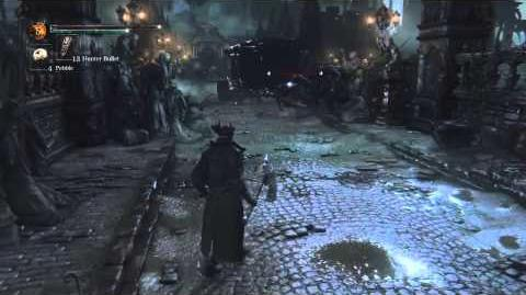 Bloodborne - Direct Feed Walkthrough 6 Minutes of Gameplay PS4 Cleric Beast Boss Fight