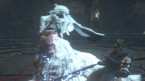Bloodborne Yharnam Pthumerian Queen Secret Boss Fight