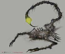 Gravekeeper Scorpion Concept Art