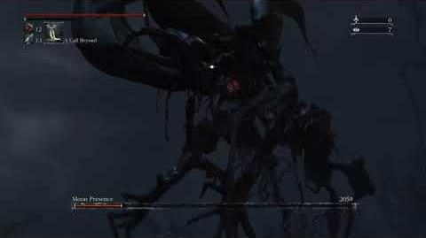 Bloodborne - (Moon Presence) Moon Presence Final Form (Cut Content)(Secret Chalice Boss)