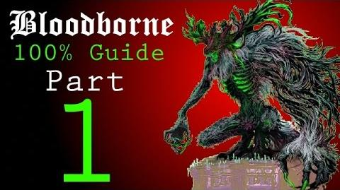 Bloodborne - Walkthrough 1 - Iosefka's Clinic, Central Yharnam, Cleric Beast Boss
