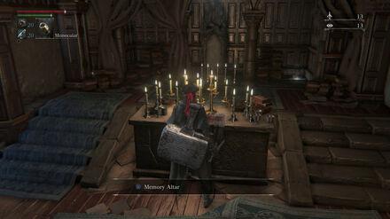 Bloodborne-memory-altar