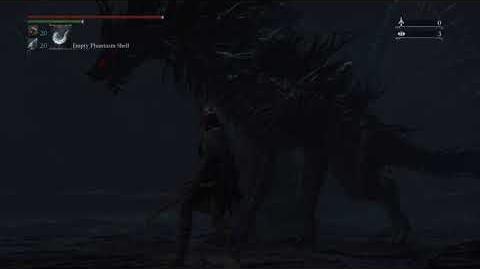 Bloodborne - (Cut Content)(Secret Chalice Boss) Great One Beast