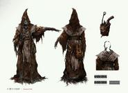 Graveguard set Concept Art