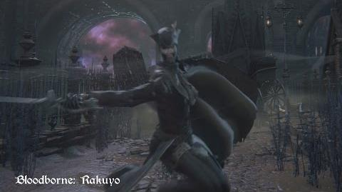 Bloodborne - Rakuyo (Move Set Showcase)