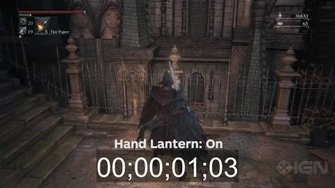 Bloodborne Stamina Recharge Test