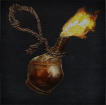 Rope Molotov Cocktail