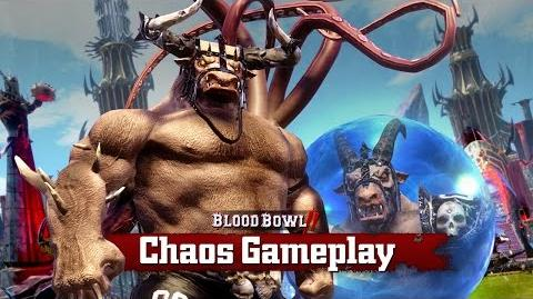 BLOOD BOWL 2 CHAOS BASIC FOULS - GAMEPLAY