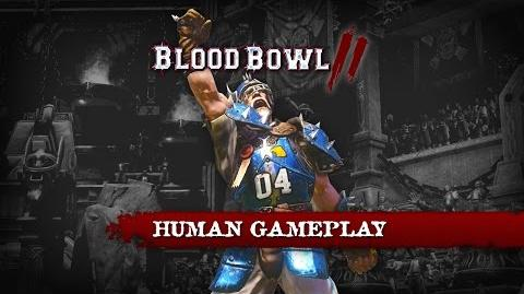 BLOOD BOWL 2 HUMANS BASIC MOVES - GAMEPLAY