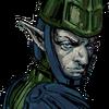 Highlander Swordsman Face