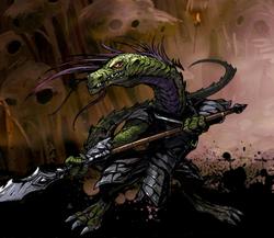 C'thak, Spearbearer Image