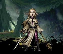 Ariat, Elven Priestess Image