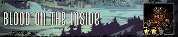 Blood on the Inside Banner