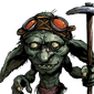 Snok Snok, Goblin Digger Face