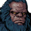 Ape Swordsman Face