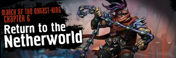 Return to the Netherworld Banner