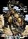 Brass Leopard Figure