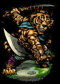 Li Zhi, the Tiger's Roar II Figure