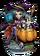 Tricia, Cauldron Witch Figure