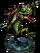 Lizardman Hunter Figure