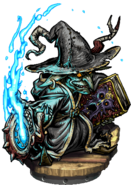 Younger Grey Mage Figure