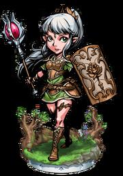 The Green Healer Figure