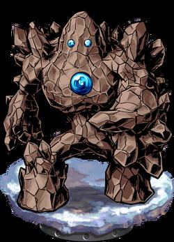 Stone Golem Figure