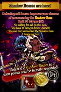 SRB45 Shadow Bosses Notice