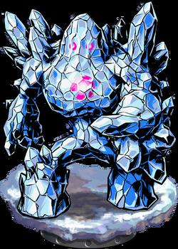 Crystal Golem Figure