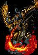 Fafnir, Fire Dragon Figure