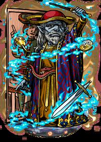 Arcanan Magus II Figure