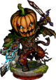 Pumpkin Knight Figure