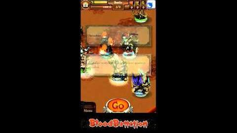 Mobage Blood Battalion Gameplay