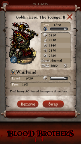 File:Goblin Hero The Younger II base stats.png