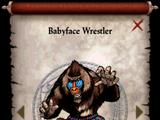 Babyface Wrestler