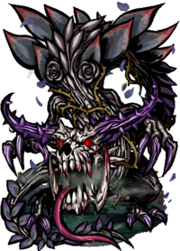 Lindworm, the Black Rose II Figure