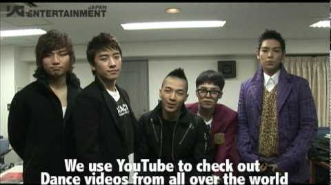 BIGBANG on My YouTube