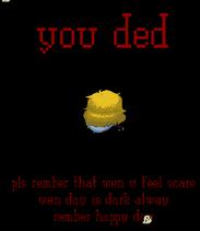 Ded screen