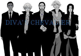 Diva's chevaliers