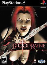 BloodRayne GameCube Cover