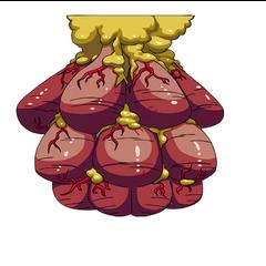 Flying parasite nest artwork